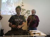Gary Howes - more trees added  - Water landscape demo Oyama Winterbash
