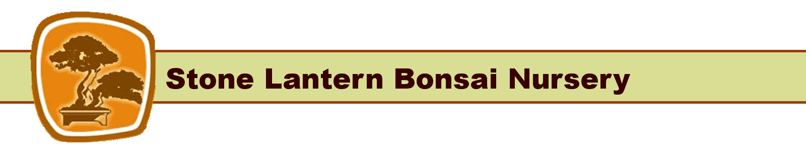 Stone Lantern Bonsai Nursery Logo